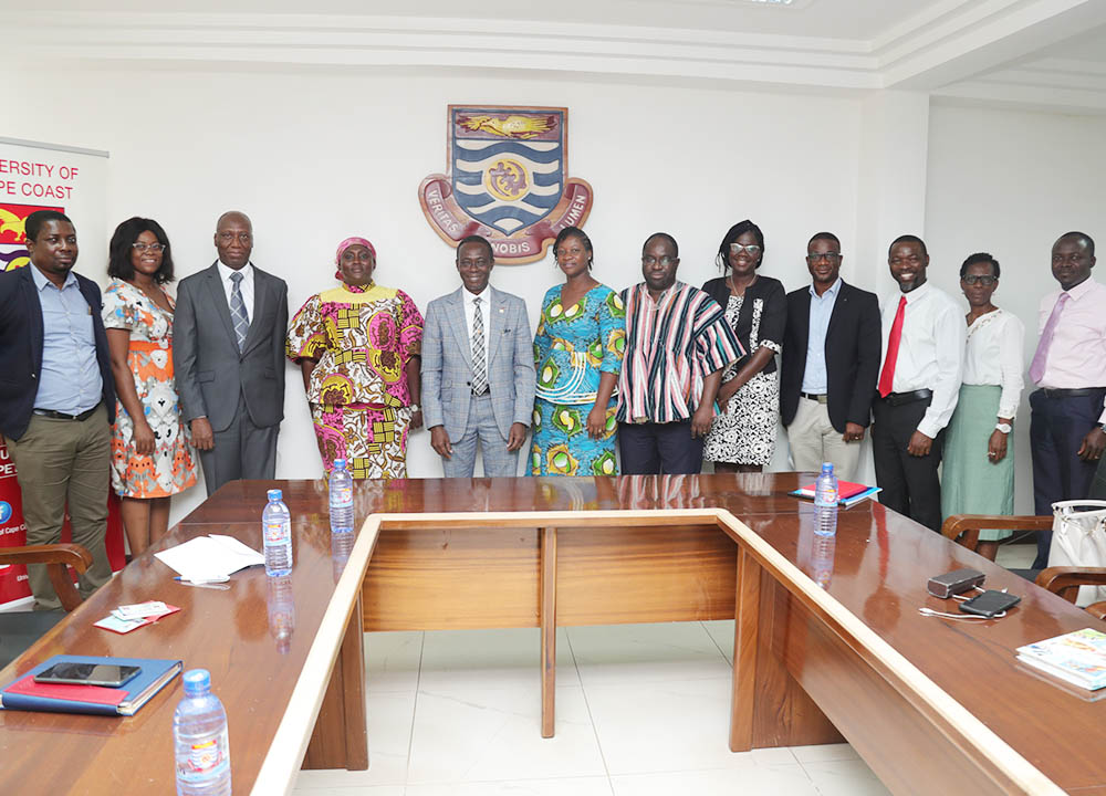 Managing Director of VCTF with UCC officials